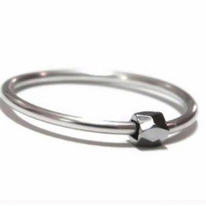 Sterling Silver Fidget Ring, sz 7